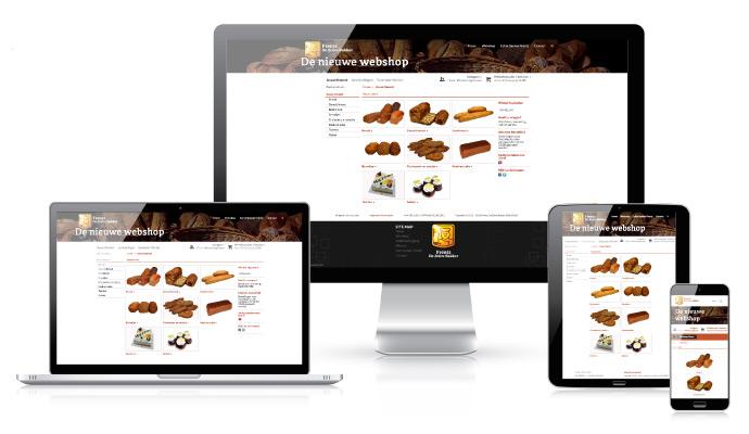 Echte Bakker Frentz - Home - Nieuwe webshop