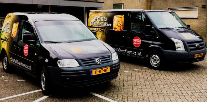 Echte Bakker Frentz - Bakkersgeheimen - Gratis bezorgservice auto
