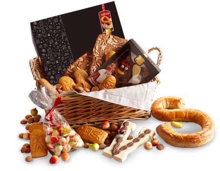 Echte Bakker Frentz - Specialiteiten - Sinterklaas-geschenken - Sinterklaas geschenkmand