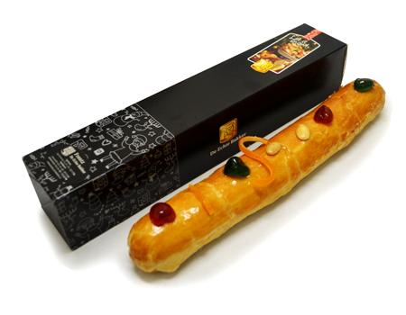 Echte Bakker Frentz - Specialiteiten - Kerst geschenken - Roomboter amandelstaaf - met doos
